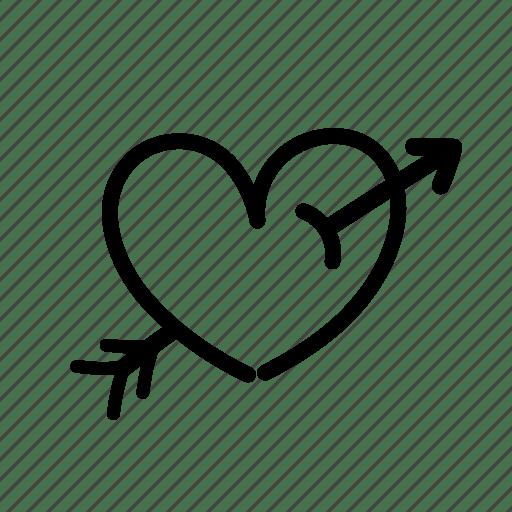 Download Arrow, heart, in love, love tattoo, romantic, tattoo ...