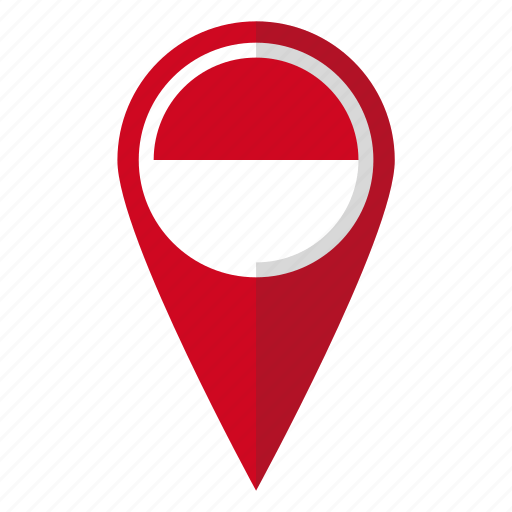 Country, flag, indonesia, indonesian, map marker, national ...