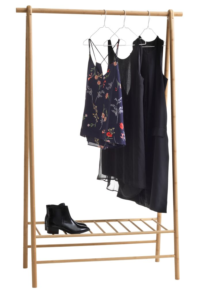 Clothes Rail Vandsted Bamboo Jysk