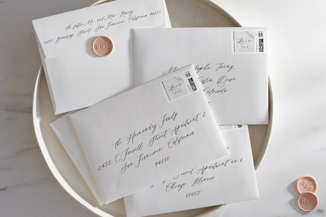 All About Envelopes: How to Address your Wedding Invitations  Minted