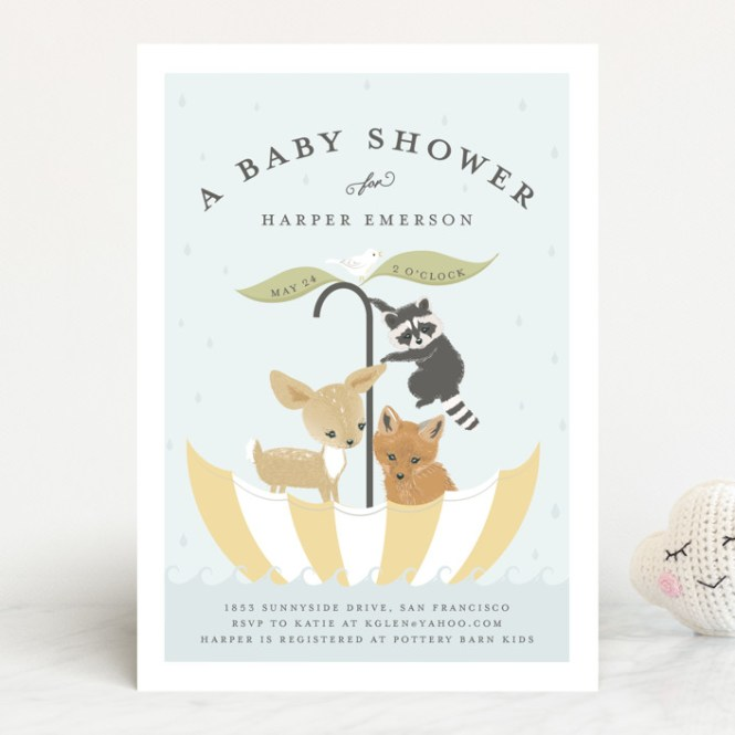 Baby Shower Invitations By Susan Moyal