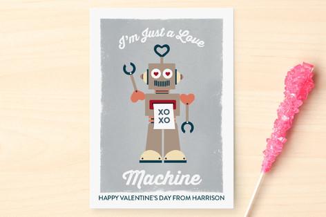 Love Machine Classroom Valentine's Day Cards