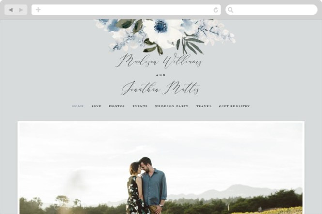 Free Wedding Websites For 2019 Minted