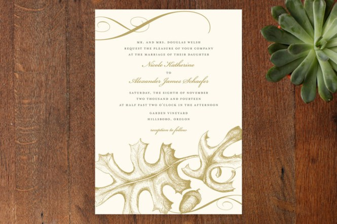 The Woodland Wedding Invitations By Amelia Lane Paper Feature Sweet Seasonal Designs