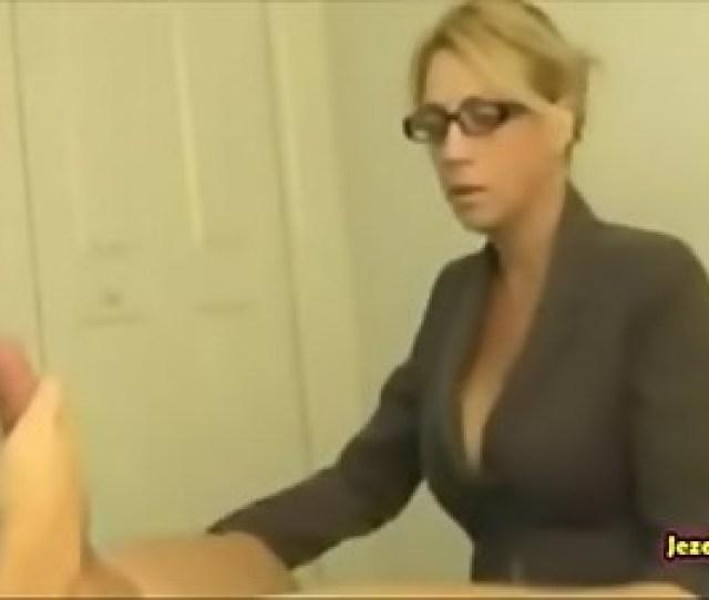 Milf Mom Caught Her Son Masturbating And