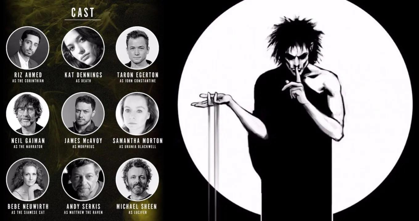 Neil Gaiman's The Sandman Audiobook Gets an A-List Cast Led by ...