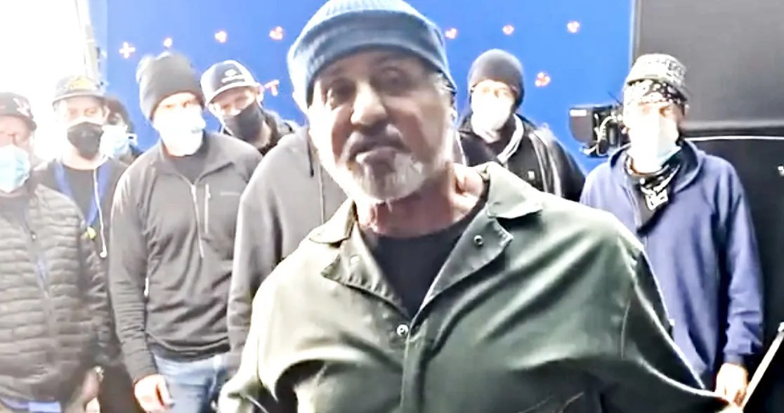 Sylvester Stallone Thanks Entire 'Samaritan' Crew After Wrapping His Superhero Adventure