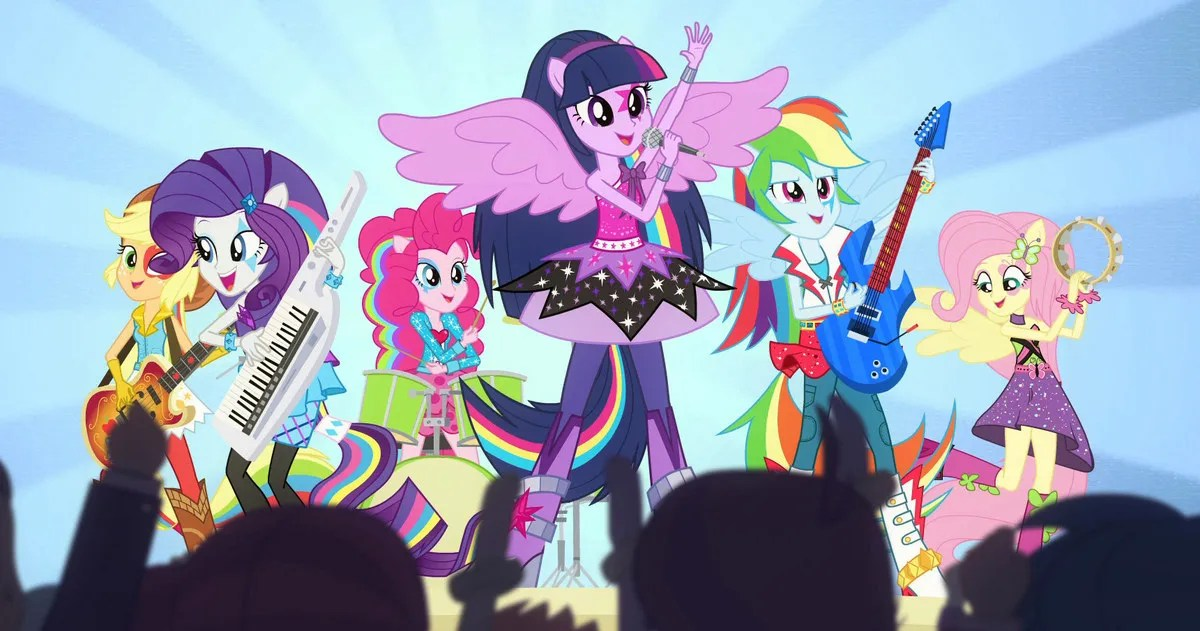 My Little Pony Rainbow Rocks Music Videos Photos And Clip