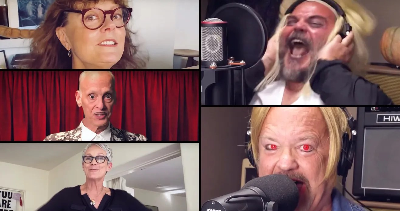 Tenacious D Do the Time Warp with Susan Sarandon in All-Star ' Rocky Horror' Cover Video