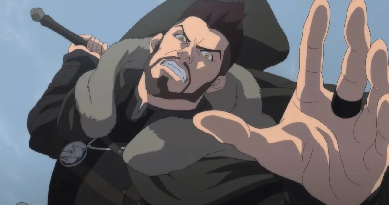 Vesemir Muda Melawan Monster di Anime Netflix