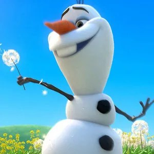 Frozen Clip Summer With Olaf The Snowman