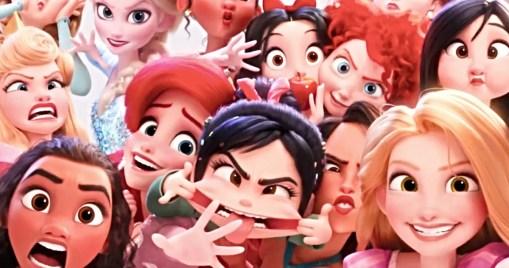 Les princesses Disney font enfin de l'auto-dérision dans Ralph 2.0