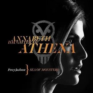 Percy Jackson Sea Of Monsters Annabeth Character Poster