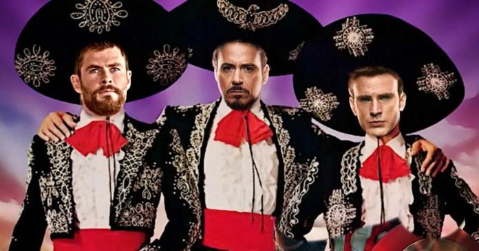 Chris Hemsworth Wants Three Amigos! Remake with Chris Evans, Robert Downey Jr. & Himself