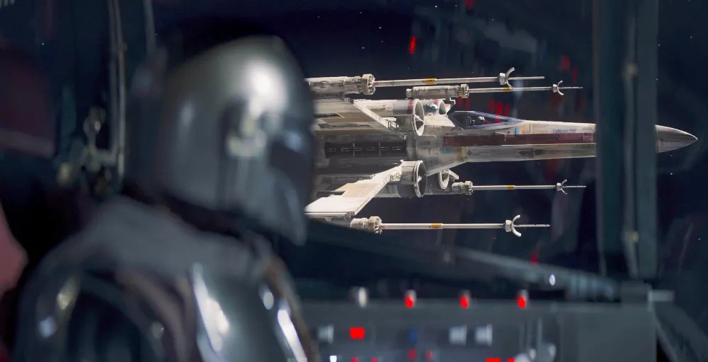 The Mandalorian Season 2 Makes X-Wing Pilot Cameos a New Star Wars Tradition