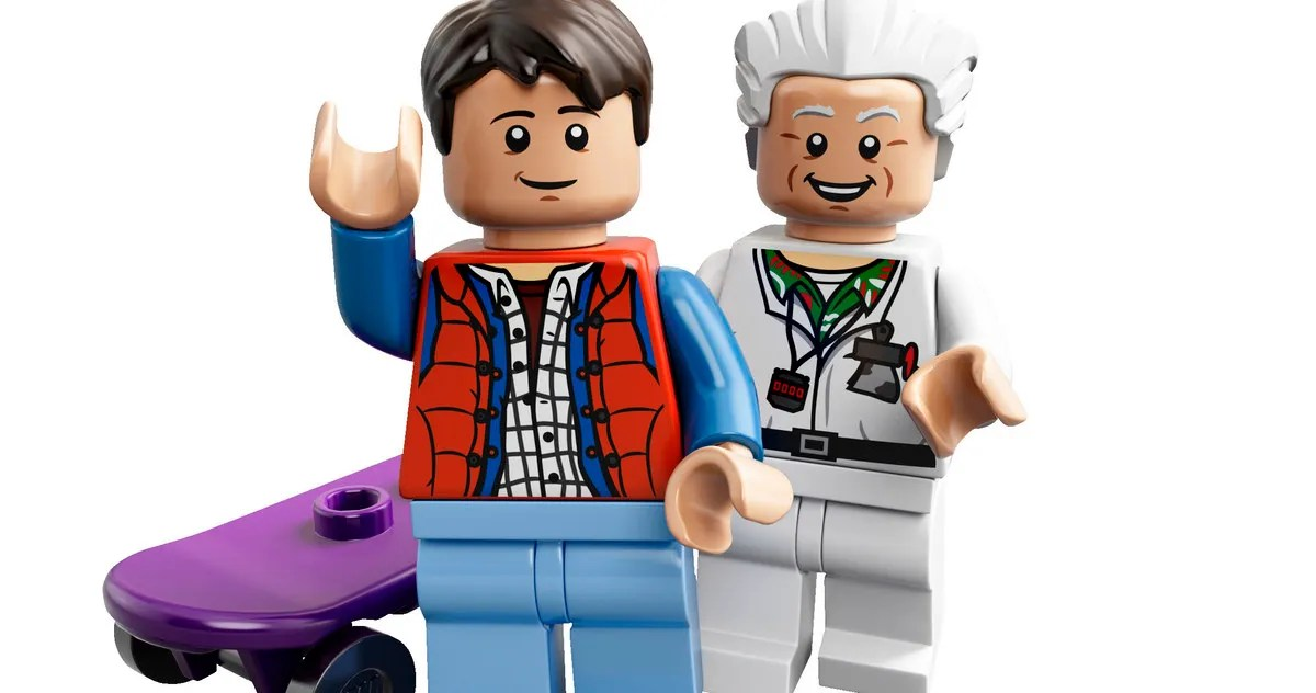 Lego Back To The Future Short Recreates Clock Tower Scene