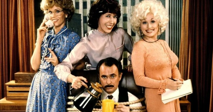 9 to 5, Dolly Parton, Feminist, Jane Fonda, Lily Tomlin