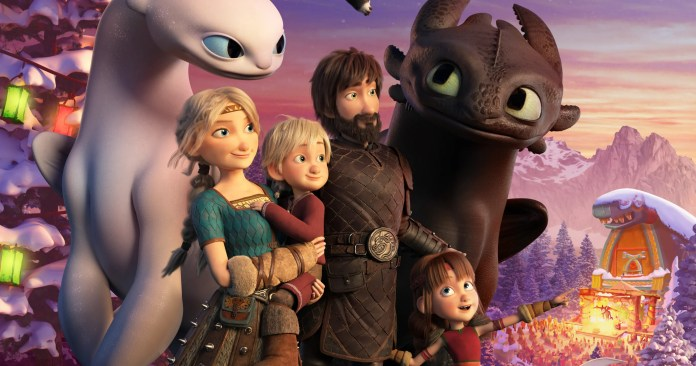All-New How to Train Your Dragon Holiday Special Arrives in December