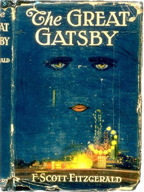 great gatsby cover designs