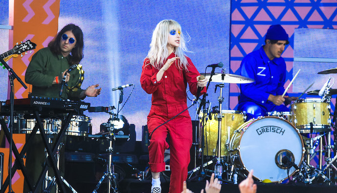 Image result for paramore hard times live