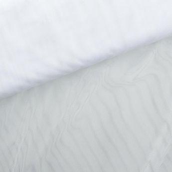 tissu moustiquaire blanche grande