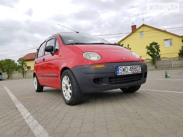 AUTO.RIA – Продам Део Матиз 1999 бензин 0.8 хэтчбек бу в ...