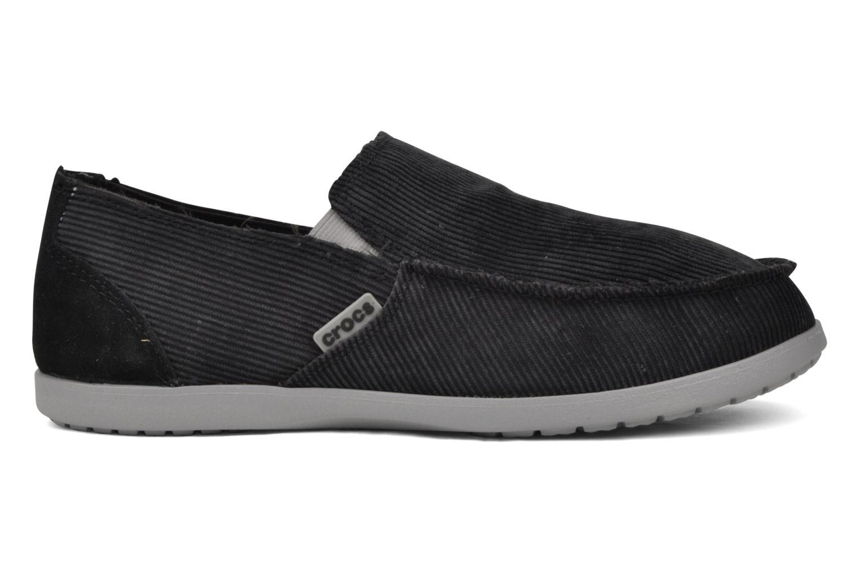 Crocs Santa Cruz Corduroy Loafers In Grey At 42100