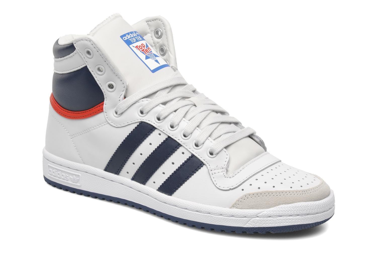 Adidas Originals Top Ten Hi (Blanc) - Baskets chez Sarenza ...