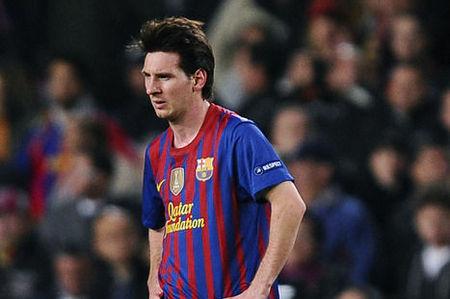 Messi muy triste tras la derrota