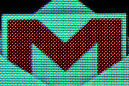 gmail logo half