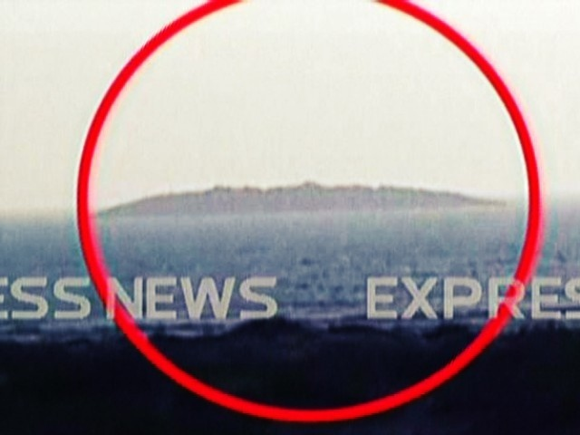 Pakistan Earthquake. Island Formed.