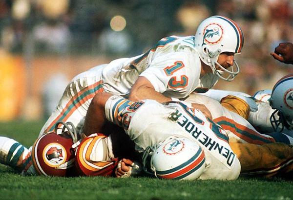 Miami Dolphins - Super Bowl VII uniform quirk - Sports ...