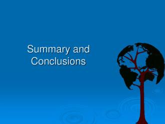 Image result for summary and conclusions