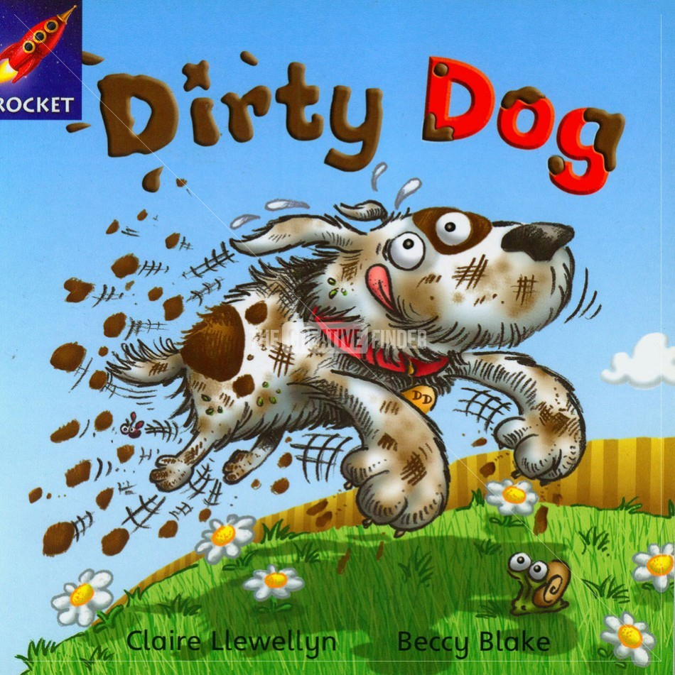 Dirty Dog By Beccy Blake Illustration From United Kingdom