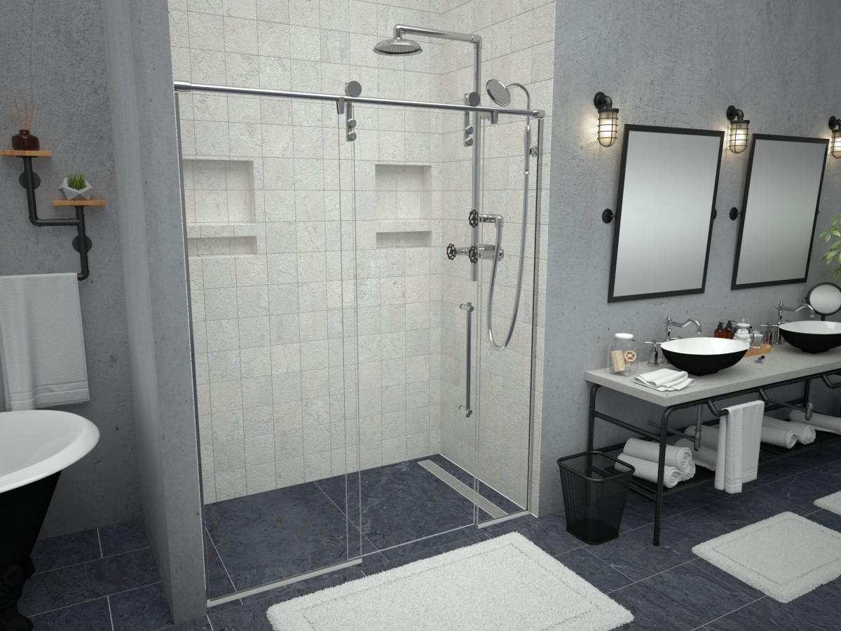Redi Free Redi Trench Walk In Shower Pans Amp Bases