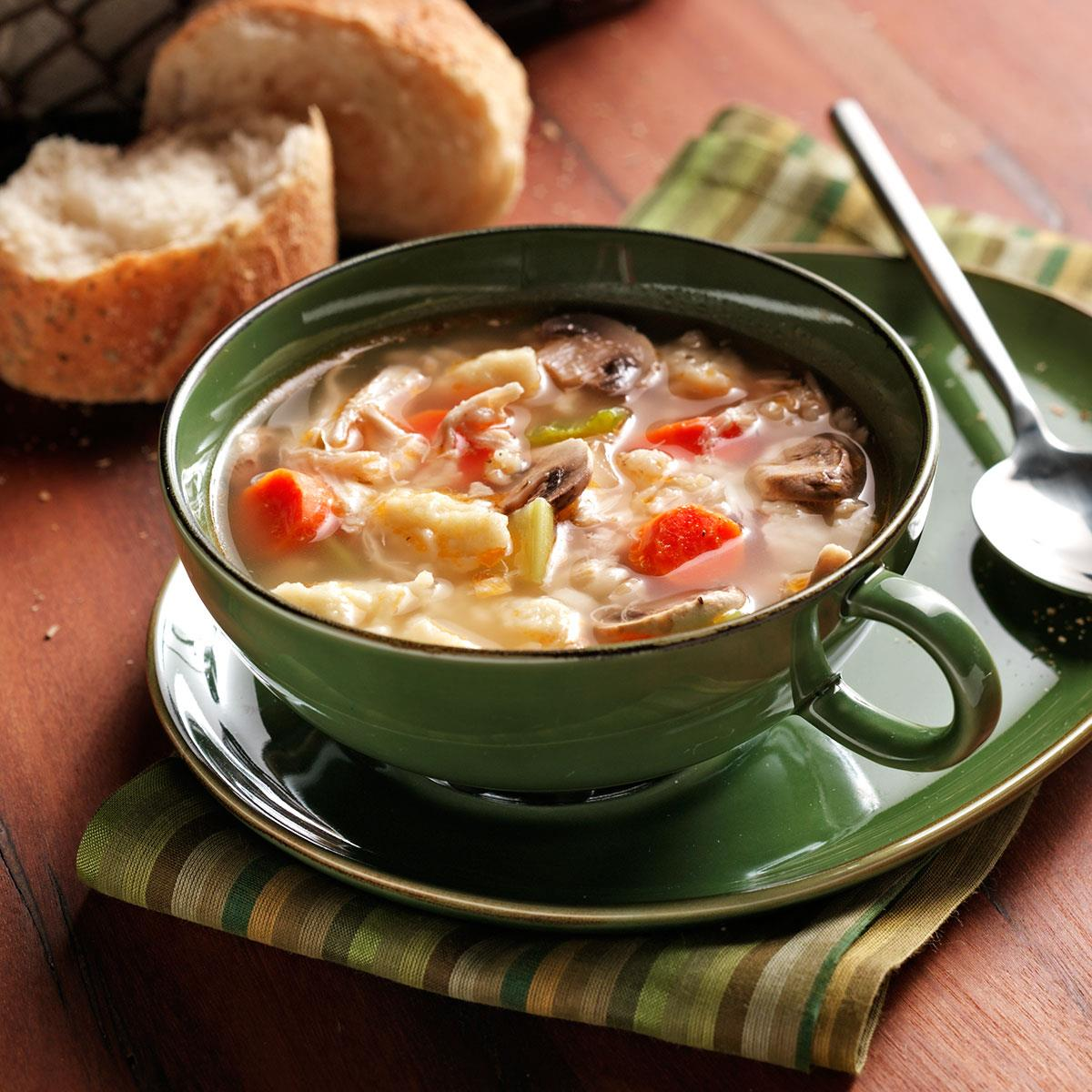 Chicken Soup With Spaetzle Recipe Taste Of Home