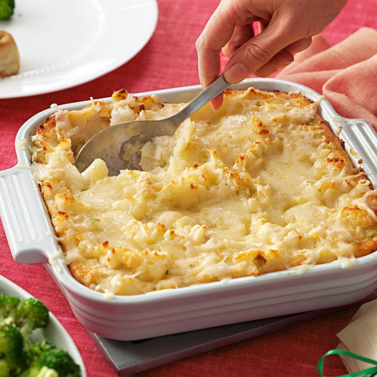 Swiss Cheese Potatoes Recipe Taste Of Home
