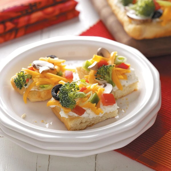 Vegetable Appetizer Pizza Recipe | Taste of Home