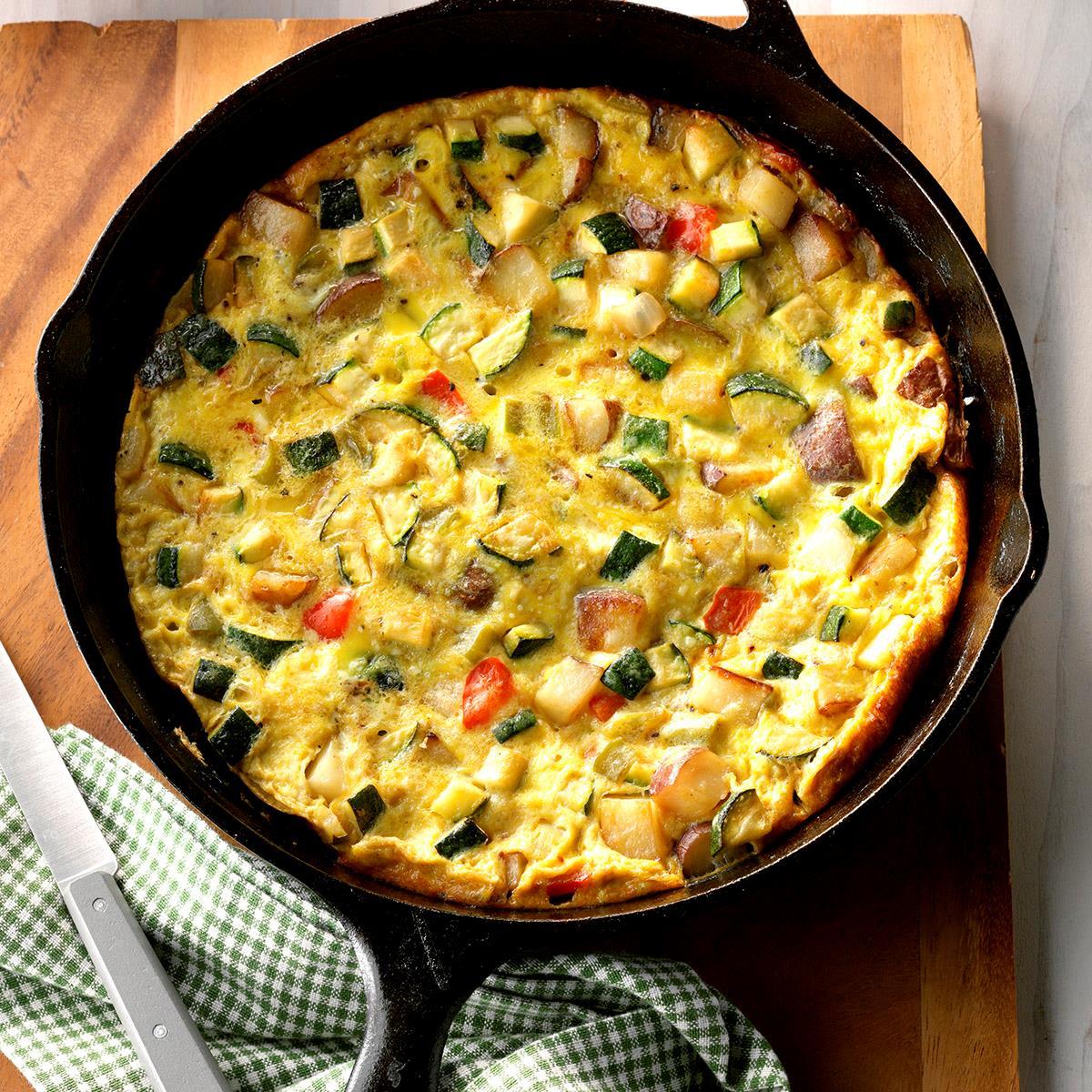 Vegetable Frittata Recipe Taste Of Home