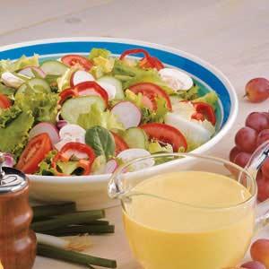 HoneyMustard Salad Dressing Recipe Taste of Home