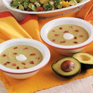 Avocado Soup Recipe | Taste of Home