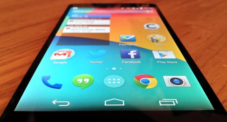 Nexus 51 730x394 Nexus 5 review: Finally, a near perfect fusion of Android hardware and software