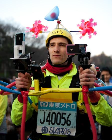 450w irun Meet Joseph Tame: Marathon runner, art runner, iRunner