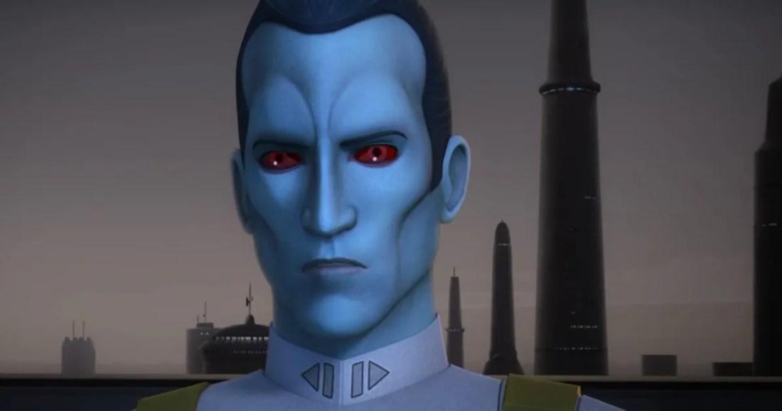 Thrawn Attacks in Star Wars Rebels Season 3 Finale Trailer
