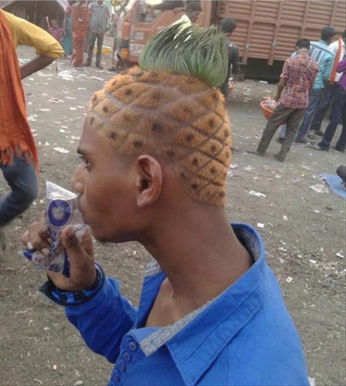 El peor corte de pelo