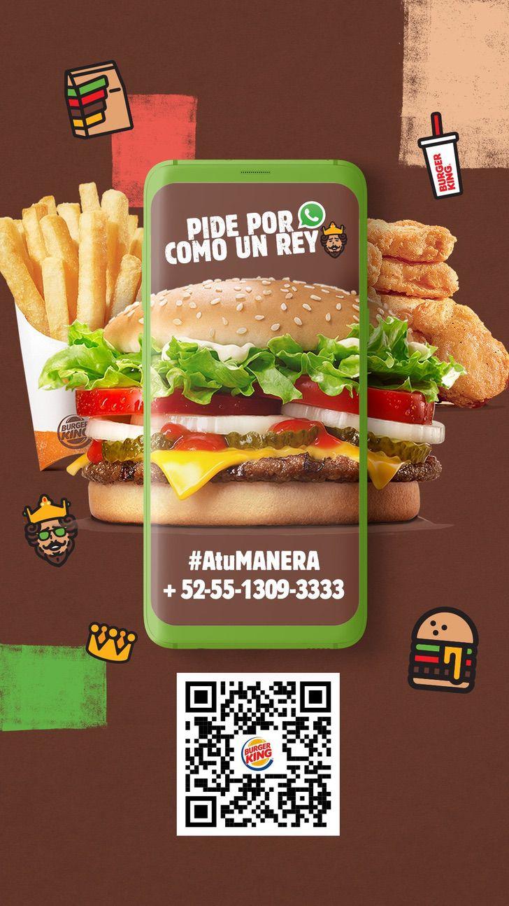 hamburguesas jk0001 - Ahora podrás ordenar tu Burger King usando Whatsapp. Una hamburguesa a tu puerta en un solo mensaje