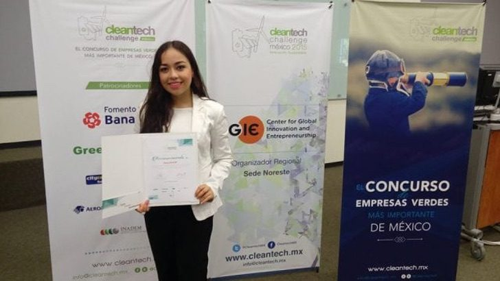 Cleantech Challenge Tec 640x360 1 - Estudiante mexicana revoluciona el mercado y fabrica bioplástico a partir de una cáscara de naranja