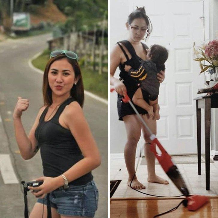 mm37 - 40 divertidas fotos que muestran cómo te cambia la vida después de que tienes hijos. Ya no es igual