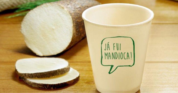 brasil yuca envases biodegradables ambiente cuidar0001 - Brasileños crean envases biodegradables a partir de yuca. Disfrutan de un buen café sin contaminar