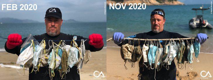facemasks2 2048x768 1 - Casi 6 mil toneladas de cubrebocas han terminado en los océanos solo en 2020. Una realidad alarmante